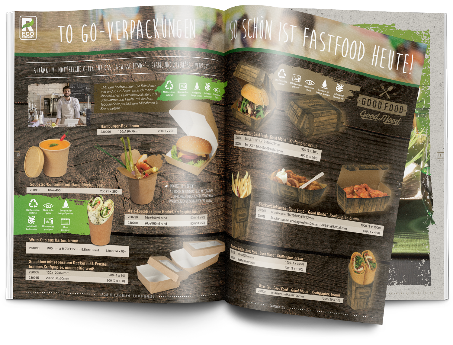Sparks Consulting Ragaller eco-friendly Katalog