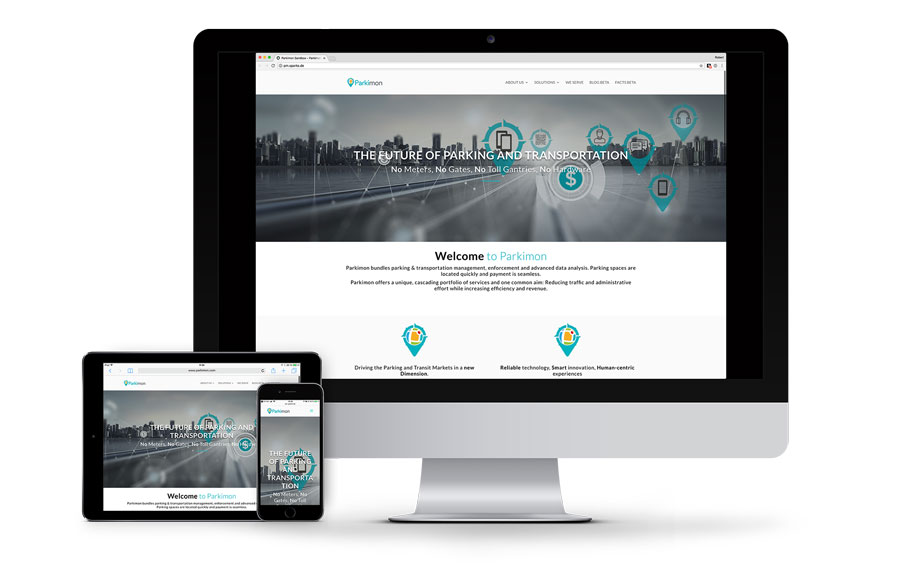 Website Parkimon